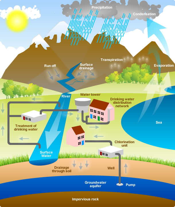 Images of Water Cycle Picture The wa Water Cycle
